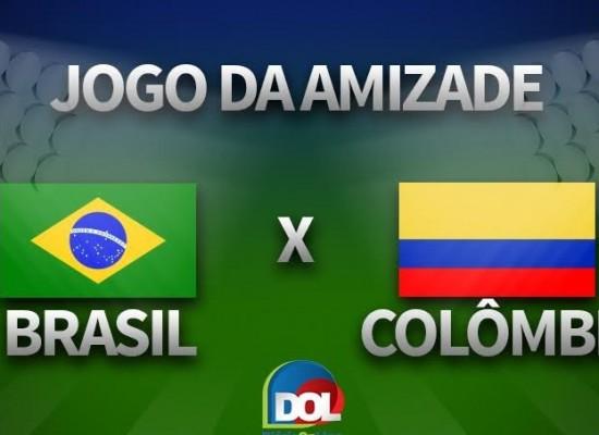 Amistoso: Brasil 1 x 0 Colômbia
