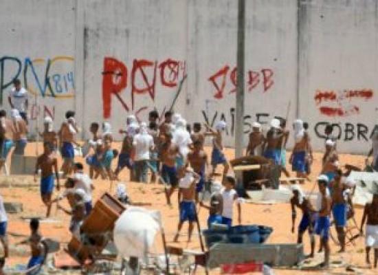 Apesar de muro em Alcaçuz, PM descarta retomada de controle em presídio
