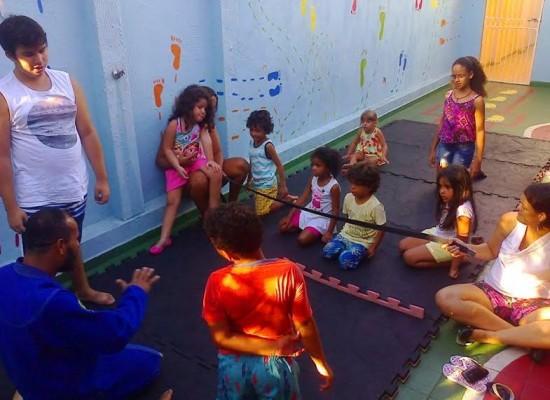 CAUA oferece mais do que diversão em Colônia de Férias para crianças