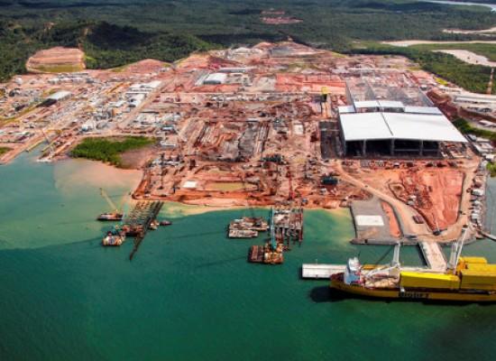 Estaleiro na Bahia pede homologação de pedido de recuperação extrajudicial