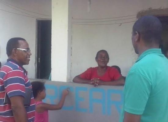 Pastor Matos realiza visita em distrito de Ilhéus