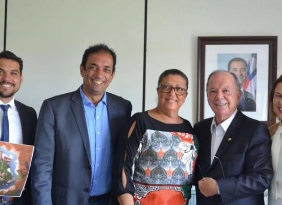 Prefeito busca apoio do Governo da Bahia para o desenvolvimento social de Ilhéus