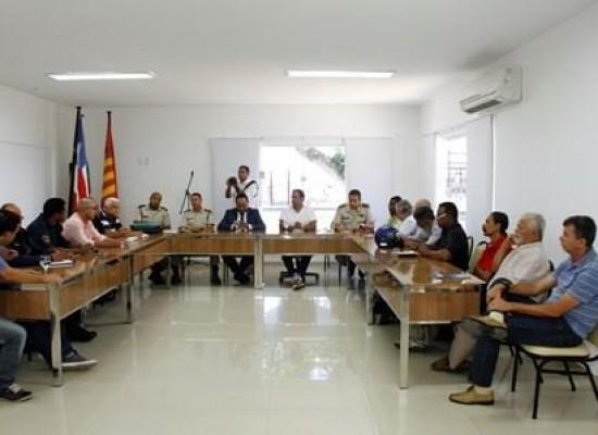 Prefeito de Ilhéus defende a reativação do Conselho Municipal de Segurança Pública