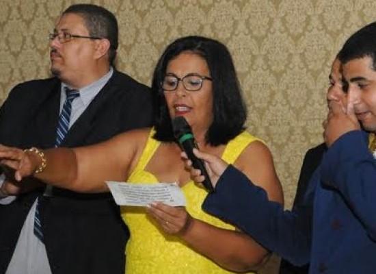Suka foi empossada como primeira prefeita eleita na história de Ubaitaba