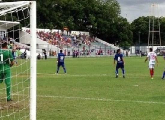 Bahia não sai do 0 a 0 com Altos-PI, mas segue líder na Copa do Nordeste