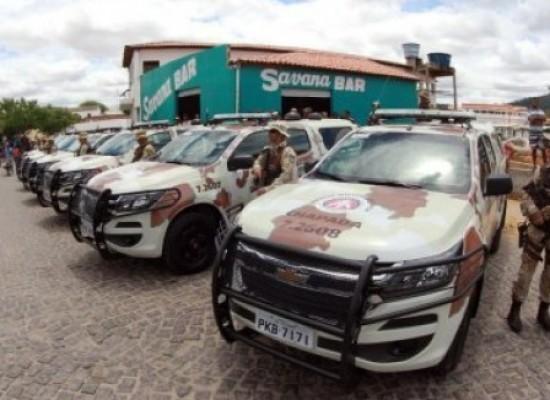 Governo entrega 29 viaturas para reforçar segurança em 10 municípios baianos