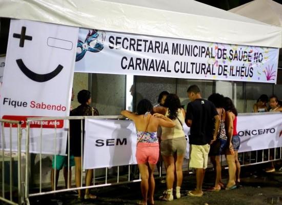 Ilhéus Folia terá esquema especial da Secretaria Saúde