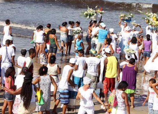 Ilhéus realiza celebrações em homenagem a Iemanjá nesta 5ª feira