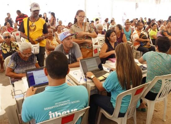 Secretaria de Desenvolvimento Social realiza mutirão itinerante no bairro Nelson Costa