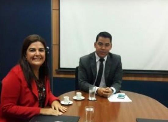 Prefeita de Camamu reivindica projeto Orla em Brasília