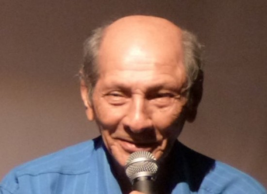 Radialista Zé Tiro-seco. Parabéns! 10 de fevereiro – 80 anos de idade