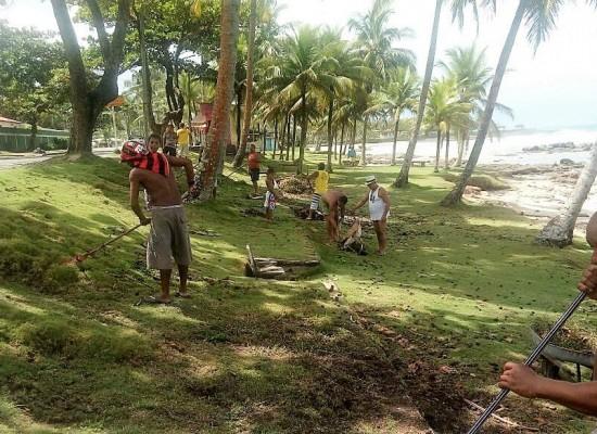Serviços de manutenção preparam Olivença para o feriadão do Carnaval