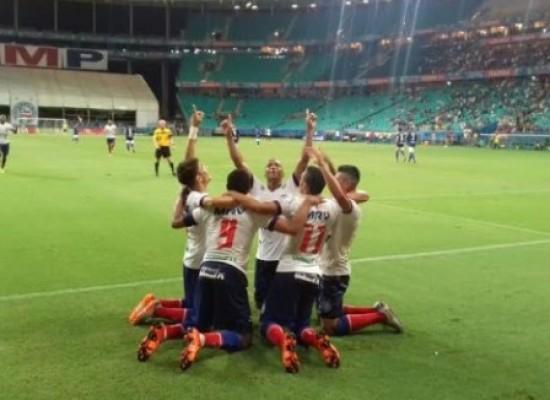 Bahia impõe goleada de 4×0 ao Moto Club e assume liderança do grupo B