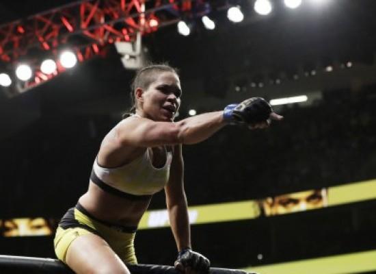 Baiana Amanda Nunes é eleita melhor lutadora de MMA do mundo