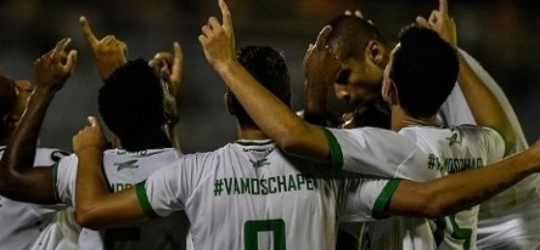 Chapecoense vence em jogo de estreia na Copa Libertadores
