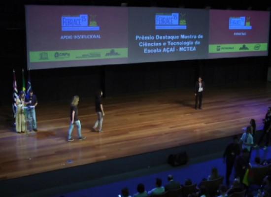 Estudantes e professores baianos são premiados na maior feira de ciência do país