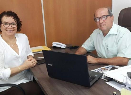INI e vice-prefeito de Ilhéus dialogam sobre elaboração participava do Plano de Metas