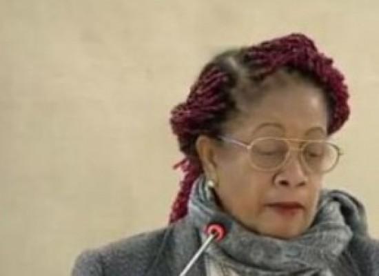 Luislinda defende na ONU língua portuguesa e direitos de afrodescendentes