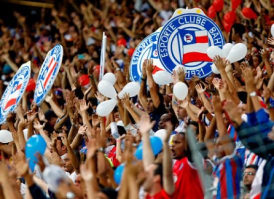 Bahia anuncia promoção com ingressos a R$ 10 para Ba-Vi