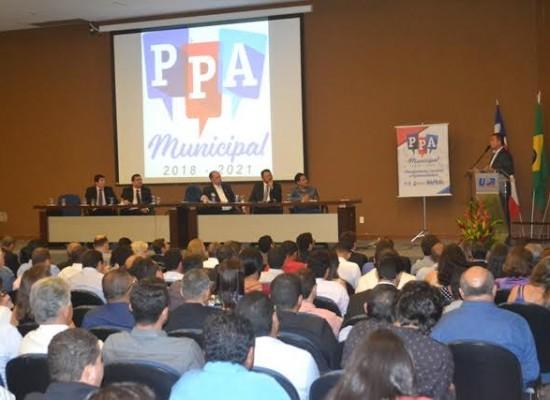 Mário Alexandre é recebido pelo presidente do TCM e participa de seminário sobre oportunidades e PPA