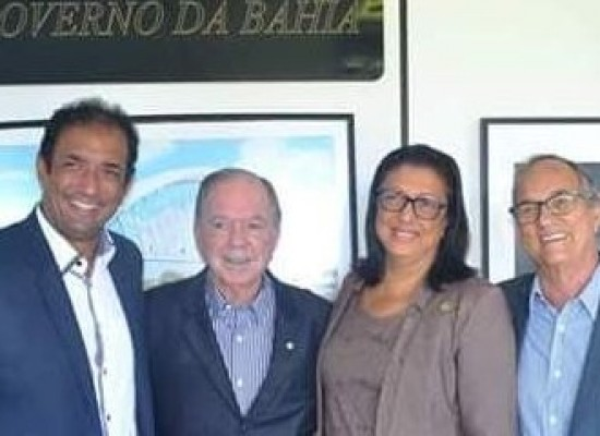 Prefeito de Ilhéus e deputada agilizam providências junto ao Governo da Bahia