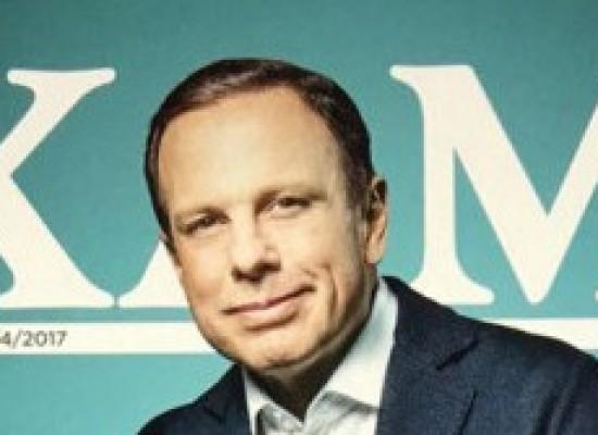 Revista Exame diz que Doria se prepara para disputar presidência