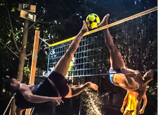 Ronaldinho revela interesse em transformar o futevôlei em esporte olímpico