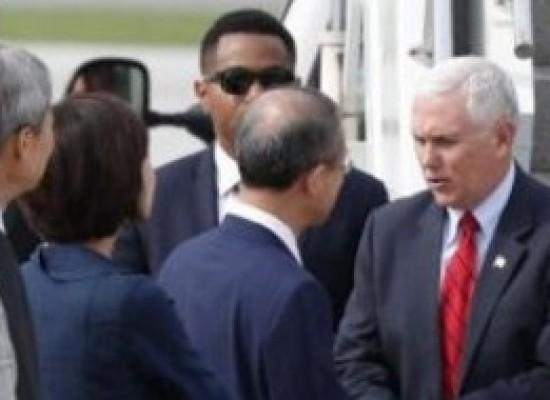 Vice-presidente dos EUA chega a Seul em meio a tensão na península coreana