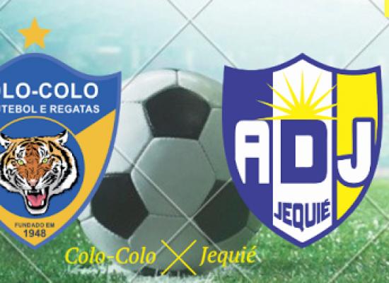 Colo-Colo enfrenta o Jequié de olho na liderança