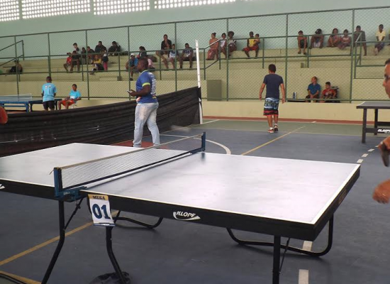 Ginásio de Esportes de Ibicaraí é reaberto com torneio de Tênis de Mesa