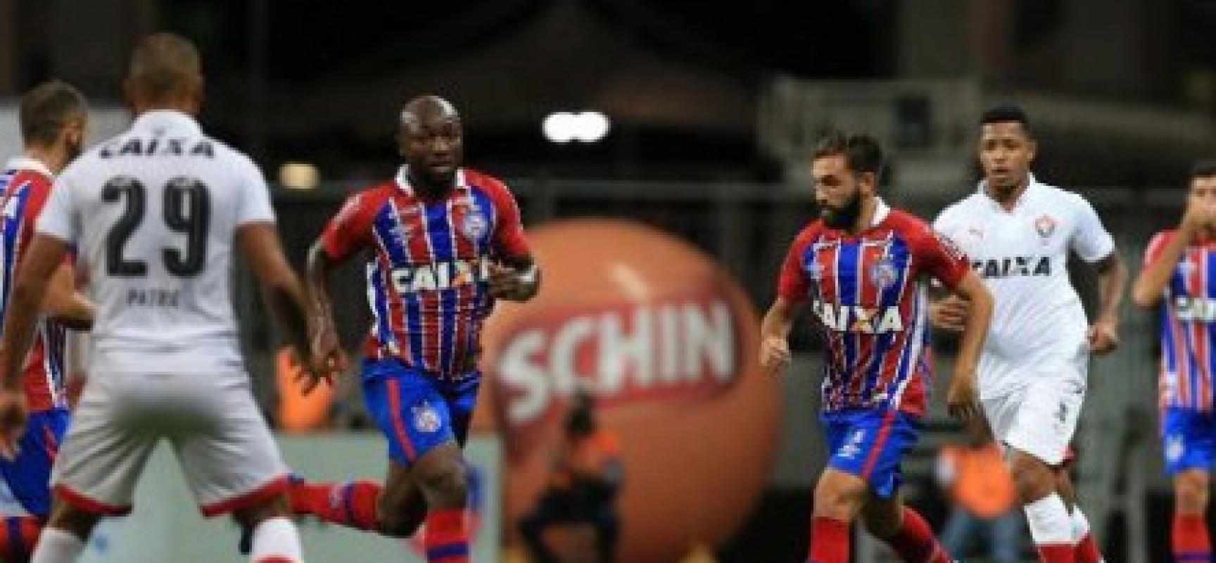 Vitória fica no 1 a 1 com o Bahia e joga por outro empate no Barradão