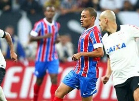 Bahia leva 3 a 0 do Corinthians e vai tentar se recuperar contra o Fla