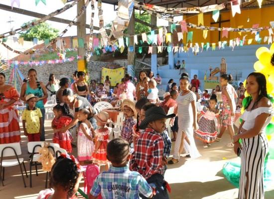 Arraiá das Famílias anima o bairro Hernani Sá, a partir deste sábado