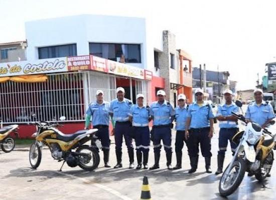 Operação da Sutran autua motociclistas; 37 deles aceitaram doar sangue e salvar vidas