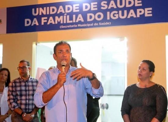 Inaugurado moderno posto de saúde no Iguape