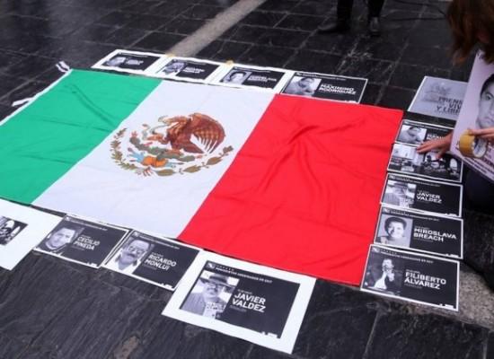 México é o país com mais mortes de jornalistas em 2017, alerta organização