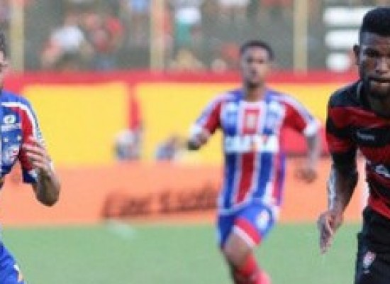 Vitória domina mas não vence e empate em 0 a 0 tira Bahia da zona