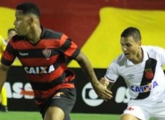 Vitória é goleado pelo Vasco por 4 a 1 e caminha para o rebaixamento