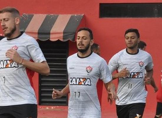 Vitória finaliza preparação e está pronto para pegar o Grêmio