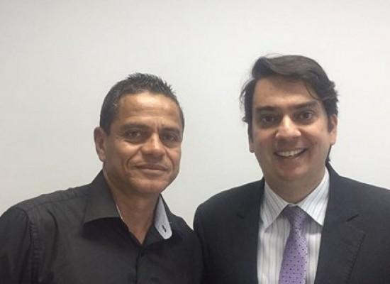 Juarez Barbosa participa de reunião com deputado estadual Pedro Tavares