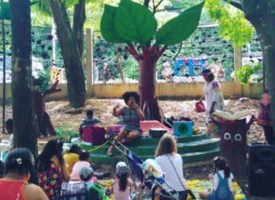 Parque da Cidade recebe o Cantinho da Leitura Livres Livros