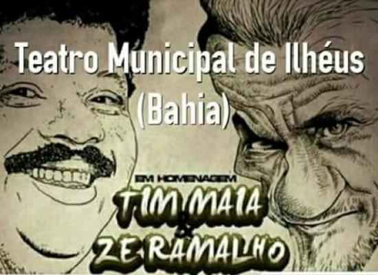 Show no TMI homenageia Tim Maia e Zé Ramalho