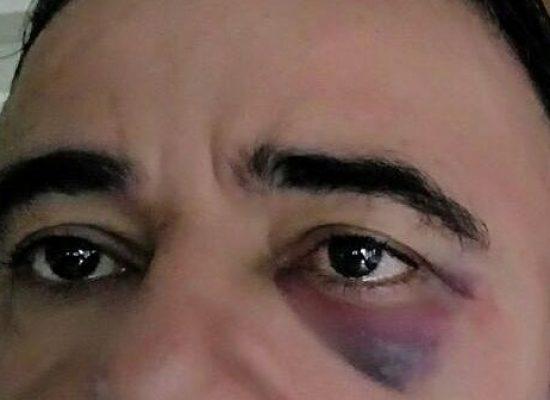 Agente é agredido após tentar desobstruir via ocupada irregularmente por carro de passeio