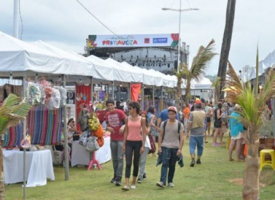 Festival da Primavera contará shows gratuitos em Salvador