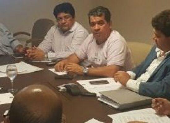 Presidente e vice da FBF discutem criação da Copa do Nordeste de Base em reunião