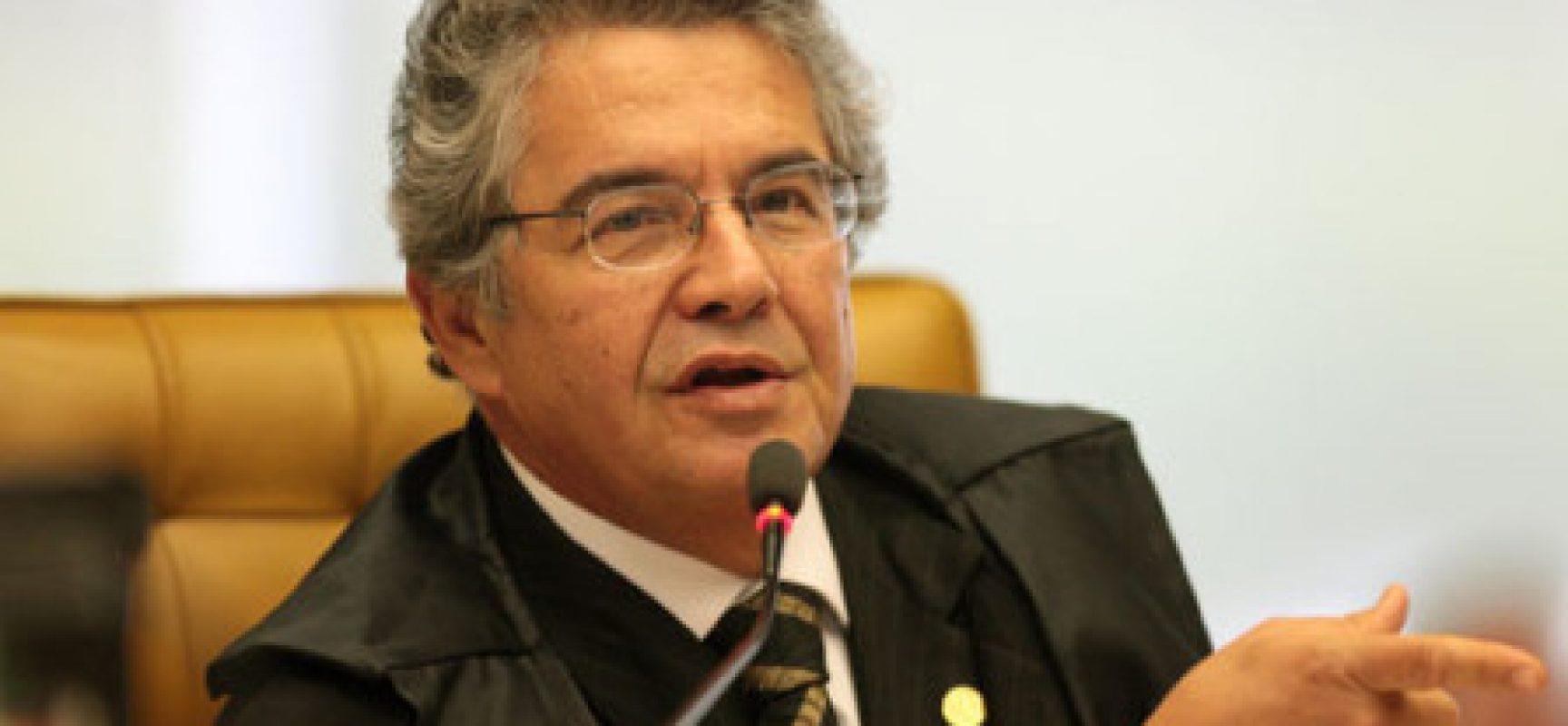 Marco Aurélio, ministro do STF, confirma aposentadoria no dia 5 de julho