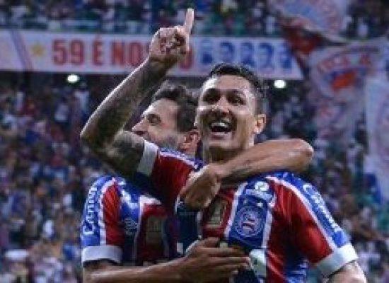 Bahia surpreende e vence o Corinthians por 2×0 na Fonte Nova