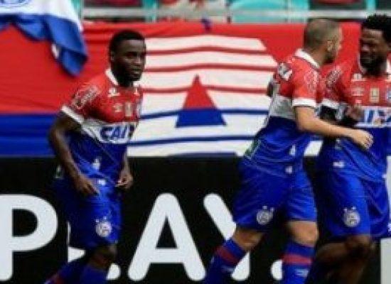 Bahia tem apenas 9% de chance de ser rebaixado, afirmam matemáticos