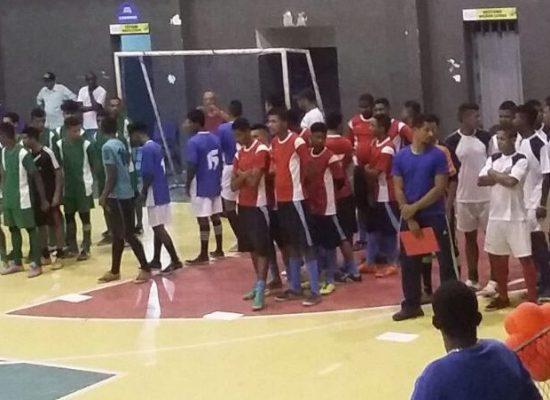 Final dos jogos pré-desportivos de Futsal reuniu cerca de 500 alunos