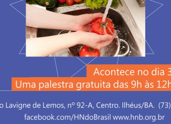 Palestra gratuita sobre Boas Práticas de Manipulação dos Alimentos será realizada na HNB